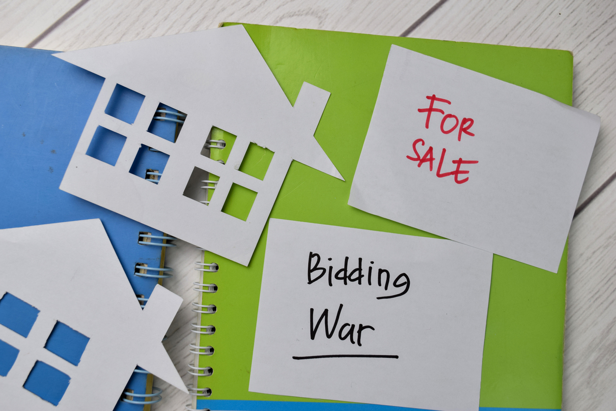 Always be Prepared for a Bidding War When Looking to Purchase a Home